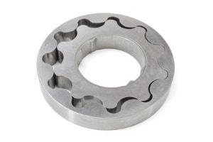 Planschleifen von Lagergehäuse aus Stahl