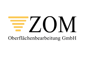 Logo der ZOM Oberflächenbearbeitung GmbH